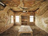 Mural Wall Hangings Indian A Sprawling Mud Mural by Yusuke asai Brings Art Into