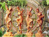 Mural Wall Hangings Indian Buy Kayra Decor Dancing Statue 3d Wallpaper Print Decal Deco