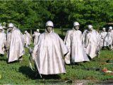 Mural Wall Korean War Memorial Visiting the Korean War Veterans Memorial In Washington Dc