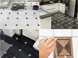 Mural Wall Tiles for Kitchen 10 10cm 3d Europe Floor Tile Diagonal Wall Sticker Living Room Bathroom Kitchen Tile Poster Wear Resistant Floor Art Mural Art Stickers for Walls Art