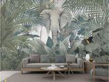 Mural Walpaper 3d Wallpaper Custom Mural Landscape nordic Tropical Plant