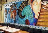Mural Walpaper Custom Mural Wallpaper Lute Horses Hand Painted Abstract Art Wall