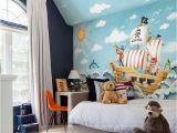 Murals for Boys Room Beibehang wholesale Boat Jack Sparrow Mural Pirate 3d Cartoon Mural