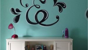 Murals for Girls Room Bining Music and Paris to This Room