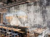 Murals for Restaurant Walls Beibehang Custom Wallpapers Home Decoration Murals Retro