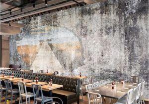 Murals for Restaurant Walls Beibehang Custom Wallpapers Home Decoration Murals Retro