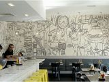 Murals for Restaurant Walls Halftone Quote Artist Writer Wall School Design Google