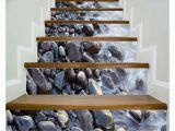 Murals for Stairway Walls 3d Scenery Pattern Stair Sticker 6pcs Set Diy Wall Decal