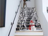 Murals for Stairway Walls Großhandel 3d Diy Weihnachtsschneemann Treppen Aufkleber Entfernbare Wasserdichte Tapete Aufkleber Selbstklebende Schritte Treppensteig Für Stairway