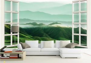 Murals for Windows Großhandel Kundengebundene Klein 3d Windows Landschaften Wände