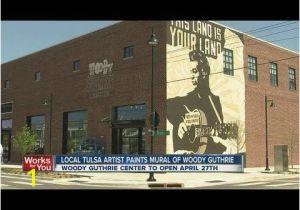 Murals In Boston Mural In Tulsa Ok at Boston & Brady Oklahoma Tulsa