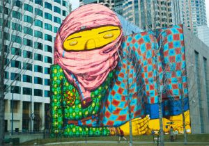 Murals In Boston Painted Mural Downtown Boston Captures