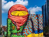 Murals In Boston the Work Of Os Gemeos In Boston Usa Streetart Streetartnews