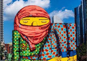 Murals In Boston the Work Of Os Gemeos In Boston Usa Streetart Streetartnews