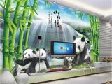 Murals Your Way Coupon Custom Wallpaper 3d National Treasure Panda Bamboo forest