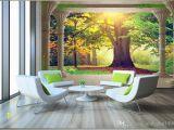 Murals Your Way Coupon High End Custom 3d Wall Murals Wallpaper Beauty Roman Column Woods