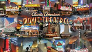 Murals Your Way Coupon Movie theatre Collage Mural