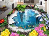 Murals Your Way Coupon Wall Mural Wallpaper Garden Ocean 3d Floor Stickers Floor