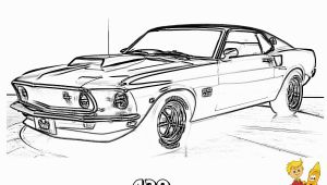 Muscle Car Coloring Pages to Print Macho Muscle Car Printables Free
