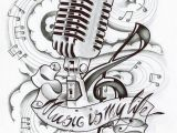 Music is My Life Coloring Pages Art therapy Coloring Page Music Music is My Life 13