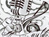 Music is My Life Coloring Pages Music is My Life Microphone Music Coloring Sheet
