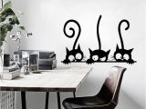 Music Murals for Walls Diy Cartoon Kitten Cats Wall Sticker Decor Decals Children S Room