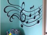 Music themed Wall Murals 25 Best Music Notes Decor Images