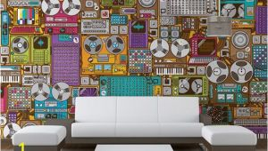 Music themed Wall Murals Music Murals Homey Pinterest