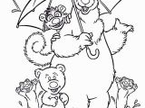 My Big Big Friend Coloring Pages 28 Collection Of Bear In the Big Blue House Coloring Pages