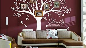 My Family Tree Wall Mural Amazon Lskoo Family Tree Wall Decal Family Like Branches