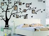 My Family Tree Wall Mural X Diy Family Tree Wall Art Stickers Removable Vinyl Black