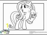 My Little Pony Printable Coloring Pages My Little Pony Fluttershy Coloring Pages with Images