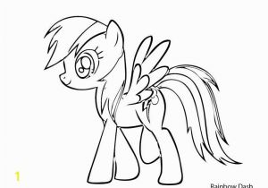 My Little Pony Rainbow Dash Coloring Pages Rainbow Dash Coloring Page Fresh My Little Pony Coloring Pages