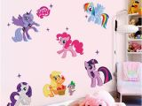 My Little Pony Wall Mural Factory Price Horse Poster 3d Cartoon Wall Stickers for Kids Rooms