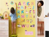 My Little Pony Wall Mural My Little Horse Alphabet Lovely Letters Wall Stickers for Kids Rooms