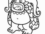 My Singing Monsters Coloring Pages Black and White Beautiful My Singing Monsters Coloring Pages Coloring Pages