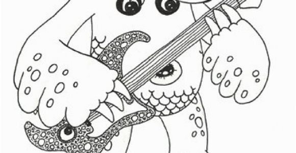 My Singing Monsters Coloring Pages Black and White My Singing Monsters Coloring Pages Unique 18elegant My Singing