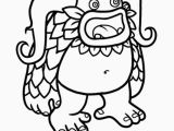 My Singing Monsters Printable Coloring Pages Pin On Best Coloring Pages Books