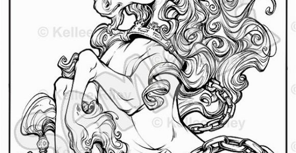 Mythical Coloring Pages for Adults Unicorn Fantasy Myth Mythical Mystical Legend Licorne Enchantment