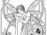 Mythical Creature Fairy Coloring Pages for Adults Fairy 20 with Images