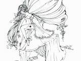 Mythical Creature Fairy Coloring Pages for Adults Fairy Coloring Pages for Adults