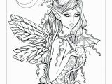 Mythical Creature Fairy Coloring Pages for Adults Mystical Coloring Pages at Getdrawings