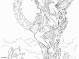 Mythical Creature Fairy Coloring Pages for Adults Mythical Coloring Pages at Getdrawings