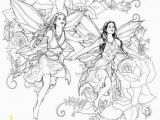 Mythical Creature Fairy Coloring Pages for Adults Printable Fairy Coloring Pages for Adults at Getdrawings