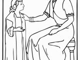 Naaman and the Servant Girl Coloring Pages Servant Girl Naäman Old Testament
