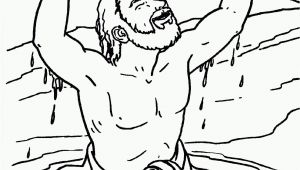Naaman In the Bible Coloring Pages Naaman Coloring Page