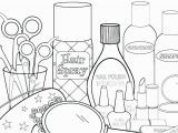 Nail Polish Coloring Pages 1615 Makeup Free Clipart 12