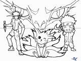 Naruto Coloring Pages Nine Tailed Fox Naruto Nine Tails Coloring Pages