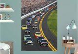 Nascar Wallpaper Murals Fathead Daytona International Speedway Pack Wall Mural 17