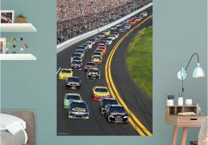 Nascar Wallpaper Murals Fathead Daytona International Speedway Pack Wall Mural 17